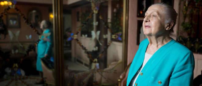 Hélène Martini, surnommée l'« impératrice de la nuit», est morte en 2017.