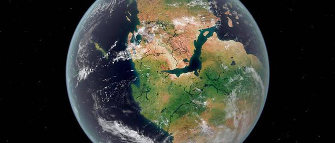 Il y a 200 millions d'années, la Terre était déjà ronde. (Image d'illustration)