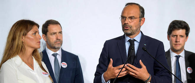 Édouard Philippe, ici avec Marlène Schiappa, Christophe Castaner et Julien Denormandie. Tous les ministres seront en première ligne pour la réforme des retraites.