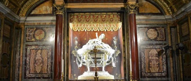 """La relique dite du """"Saint-Berceau"""", conservée à Rome, doit être transférée à Bethléem le 30 novembre."""