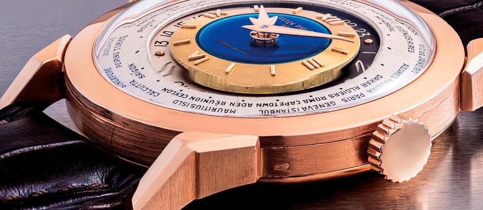 <p>La Patek Philippe référence 2523, en or rose, a atteint la somme record de plus de 8 millions d'euros dans le cadre d'une vente aux enchères chez Christie's.</p> <p></p> <p></p>