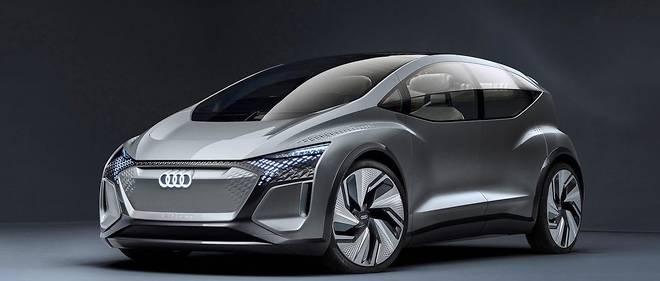 Les Audi dans le futur, ce sera de plus en plus souvent des voitures plus compactes et totalement électriques, préfigurées par ce concept de 2019.