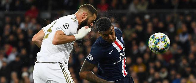 Karim Benzema a signé un doublé face au PSG.