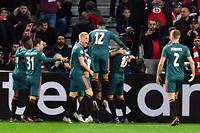 L'Ajax Amsterdam, finaliste l'an dernier, a surclassé Lille.