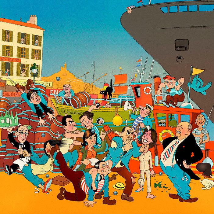 Marseille –Municipales 2020: sont-ils tous devenus fadas?