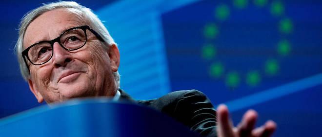 Jean-Claude Juncker lors de sa dernière conférence de presse le 29 novembre.