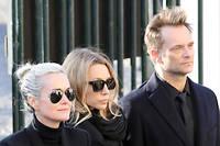 Photo prise lors des obsèques de Johnny Hallyday.