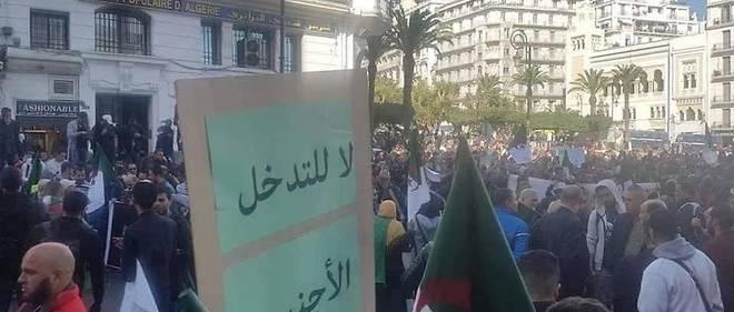 L'Union générale des travailleurs algériens (UGTA) a organisé, samedi à Alger, une marche à travers laquelle les participants ont dénoncé l'ingérence flagrante du Parlement européen dans les affaires internes de l'Algérie.