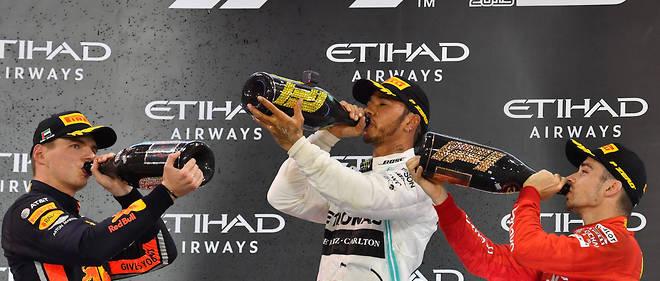 Hamilton et Mercedes ne pouvaient pas rêver meilleur final après leurs deux titres décrochés cette saison.