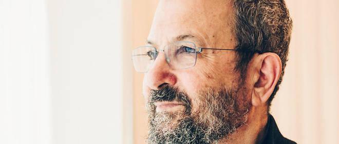 Ehud Barak dans son bureau de Tel-Aviv