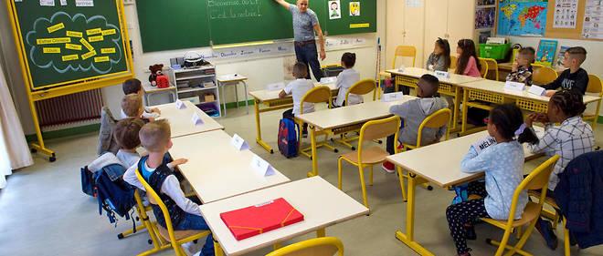 Un salle de classe à Clermont-Ferrand.