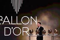 Lionel Messi est le recordman du nombre de ballons d'or gagnés.