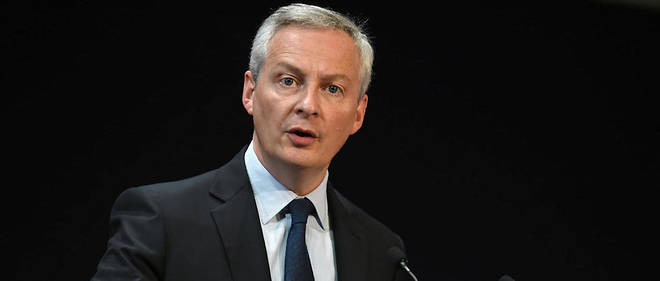 Le ministre de l'Economie Bruno Le Maire deplore des menaces << inacceptables >> des Americains contre la taxe numerique francaise (photo d'illustration).