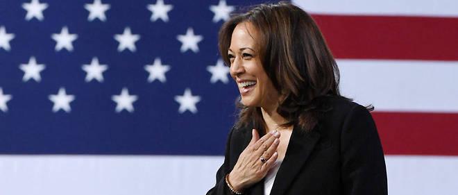 Kamala Harris, sénatrice démocrate, était en difficulté dans les sondages.
