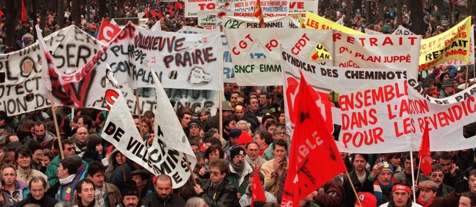 "5 decembre: un mecontentement social ""plus fort"" qu'en 1995"