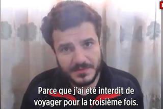 Ahmed Harkan est en grève de la faim depuis le 30 octobre.