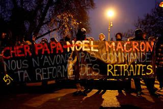 Grève du5décembre:806000 manifestants selon le ministère, 1,5 millionselon la CGT