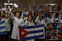 Des centaines de médecins cubains ont été envoyés «en mission»dans divers pays. (Photo d'illustration)