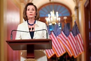Nancy Pelosi s'est exprimée ce 5 décembre.