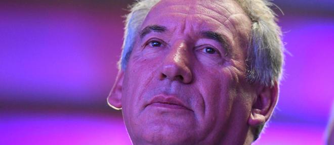 Le patron du MoDem, François Bayrou.