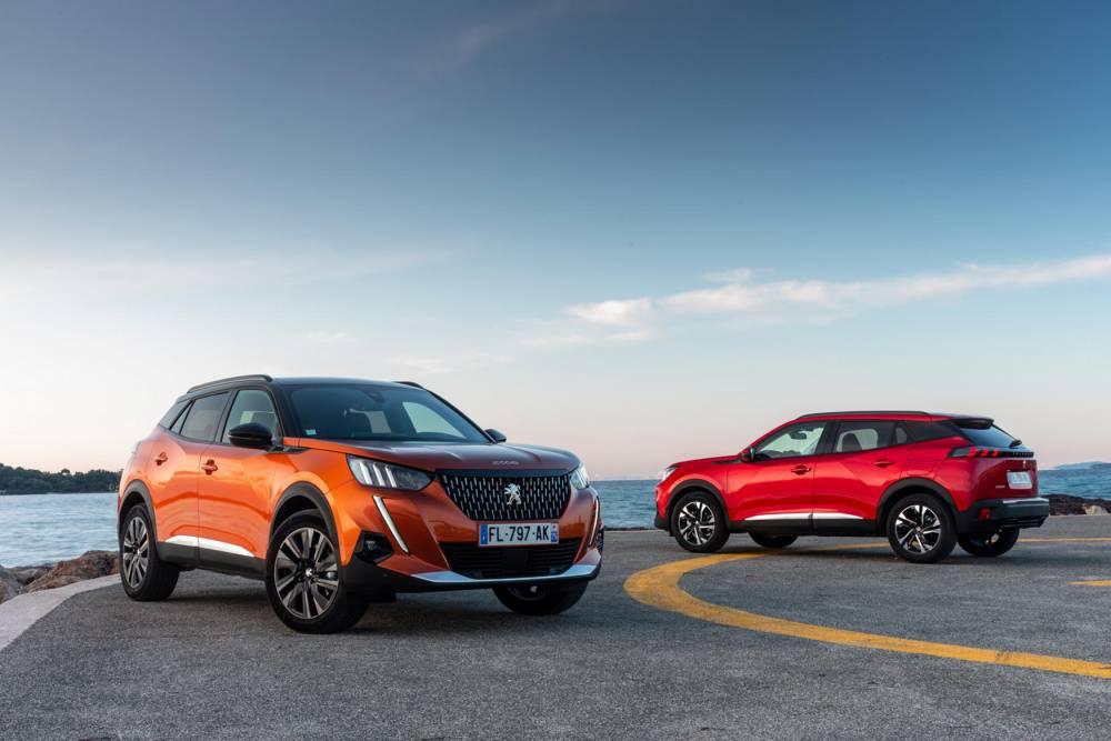 Peugeot 2008 : l\'étoffe des zéros en plus