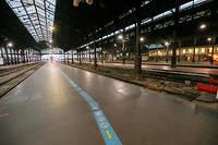 Ce week-end, un TGV sur six circulera en moyenne en France (photo d'illustration).