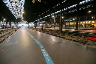 Ce week-end, un TGV sur six circulera en moyenne en France (photo d'illustration).
