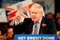 Boris Johnson le 6 novembre 2019.