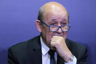 Jean-Yves Le Drian, le ministre des Affaires étrangères, a appeléles Européens à se monter « plus proactifs » au sein de l'Otan (photo d'illustration).