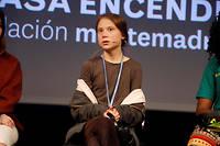 Greta Thunbergest arrivée vendredi matin à Madrid en train depuis Lisbonne après avoir traversé l'Atlantique en catamaran.