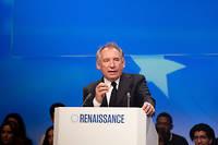François Bayrou avait dû quitter son poste de ministre de la justice au moment de l'éclatement de l'affaire.