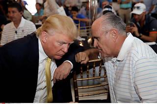 L'oreille du président. Rudy Giuliani est l'avocat personnel et le conseiller le plus influent de Donald Trump.