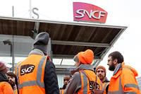 « Nous appelons à la poursuite du mouvement ce week-end et au renforcement du mouvement à partir de lundi », a déclaré Laurent Brun, secrétaire général de la CGT-Cheminots samedi 7 décembre. Photo d'illustration.