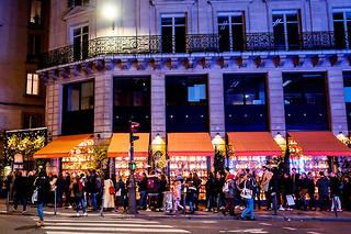 Il faut parfois patienter jusqu'à deuxheures avant de s'attabler dans l'un des restaurants Big Mamma (ici, à Paris2 e ), où les réservations sont bannies.  ©Romain Gaillard