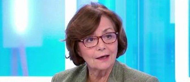 Michèle Bernard-Requin, magistrate exemplaire, a rassembléses dernières forces pour écrire un hymne aupersonnel hospitalier du pavillon Rossini de l'hôpital Sainte-Perrine.