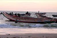 Sous le choc, la petite ville de Barra, sur le fleuve Gambie, pleure ses morts, victimes du naufrage d'une embarcation au large de la Mauritanie (photo d'illustration).