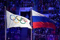 Le drapeau de la Russie ne flottera pas lors des JO de Tokyo en 2020 et de Pékin en 2022.
