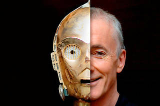 Docteur C-3 PO et Mister Daniels, ou la malédiction d'un acteur dont le visage est caché. Enfin libre ?  ©dpa picture alliance archive / Alamy Stock Photo