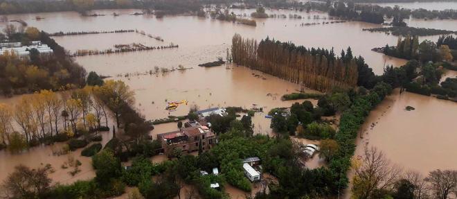 Les intempéries qui ont frappéle sud-est de la France ont fait sept morts.