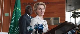 Ursula von der Leyen le 7 décembre 2019.