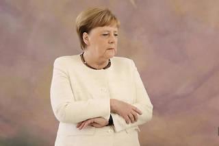 Angela Merkel en juin 2019.