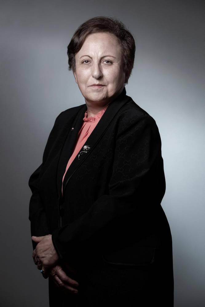 -Shirin-Ebadi-Iran-manifestations- ©  JOEL SAGET / AFP