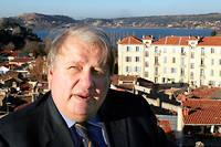 François Bernardini, le maire d'Istres, est candidat à sa propre succession en 2020.