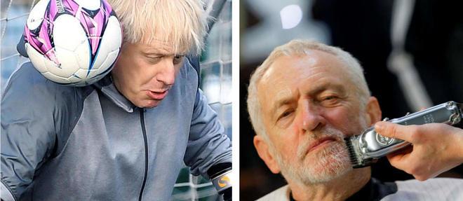 Un match de foot ou une séance chez le barbier, la campagne a été agitée au Royaume-Uni.