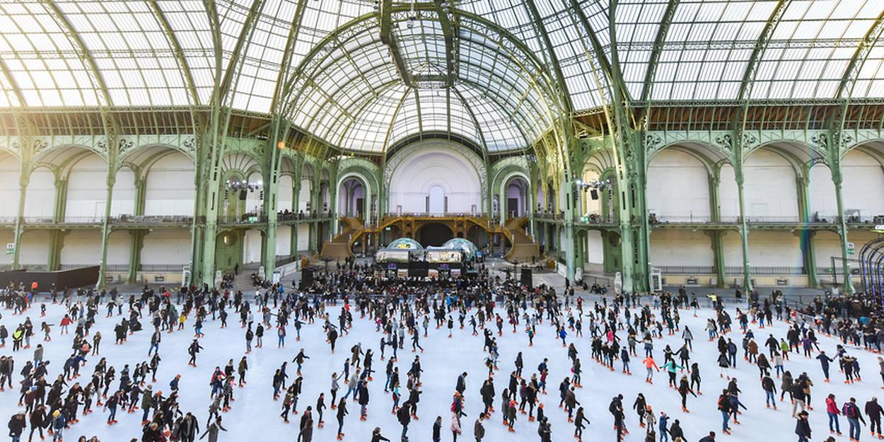 La Plus Grande Patinoire Au Monde Est De Retour à Paris Le Point