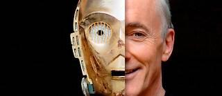 Docteur C-3PO et Mister Daniels, ou la malédiction d'un acteur dont le visage est caché. Enfin libre?  ©dpa picture alliance archive / Alamy Stock Photo