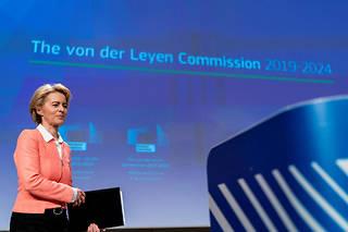«Il faudra plus d'une génération pour atteindre notre objectif, prévient Ursula von der Leyen. Et il faudra faire évoluer ce pacte en feuille de route.»