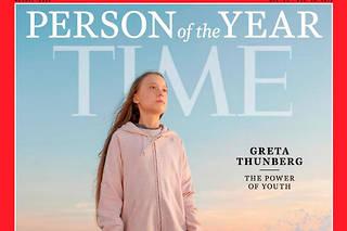 Greta Thunger est sacrée «personnalité de l'année»par le magazine  Time .