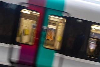 La jeune femme a accouché dans un wagon du RER D. (Illustration)