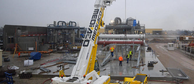 Le 11 décembre, une intense activité a été constatée sur le site de Vendenheim (Bas-Rhin), où l'entreprise Fonroche conduit un projet de géothermie.